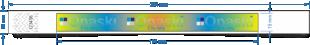 Opaska paper/tyvek 011