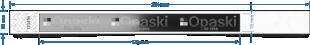 Opaska paper/tyvek 013